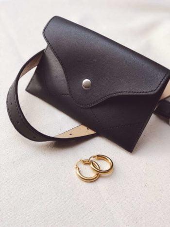 KAJO_Belt Bag Black_ KAJO Jewels Accesories Fashion 2