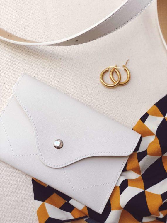 KAJO_Belt Bag White_ KAJO Jewels Accesories Fashion 1
