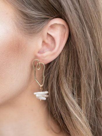 KAJO Jewels Pearl Drop Earrings