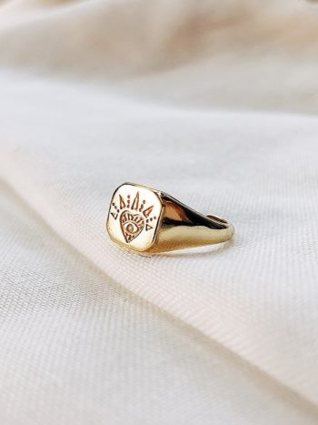 Love Signet Ring – KAJO Jewels Rings, Pearl Ring, Engagement ring