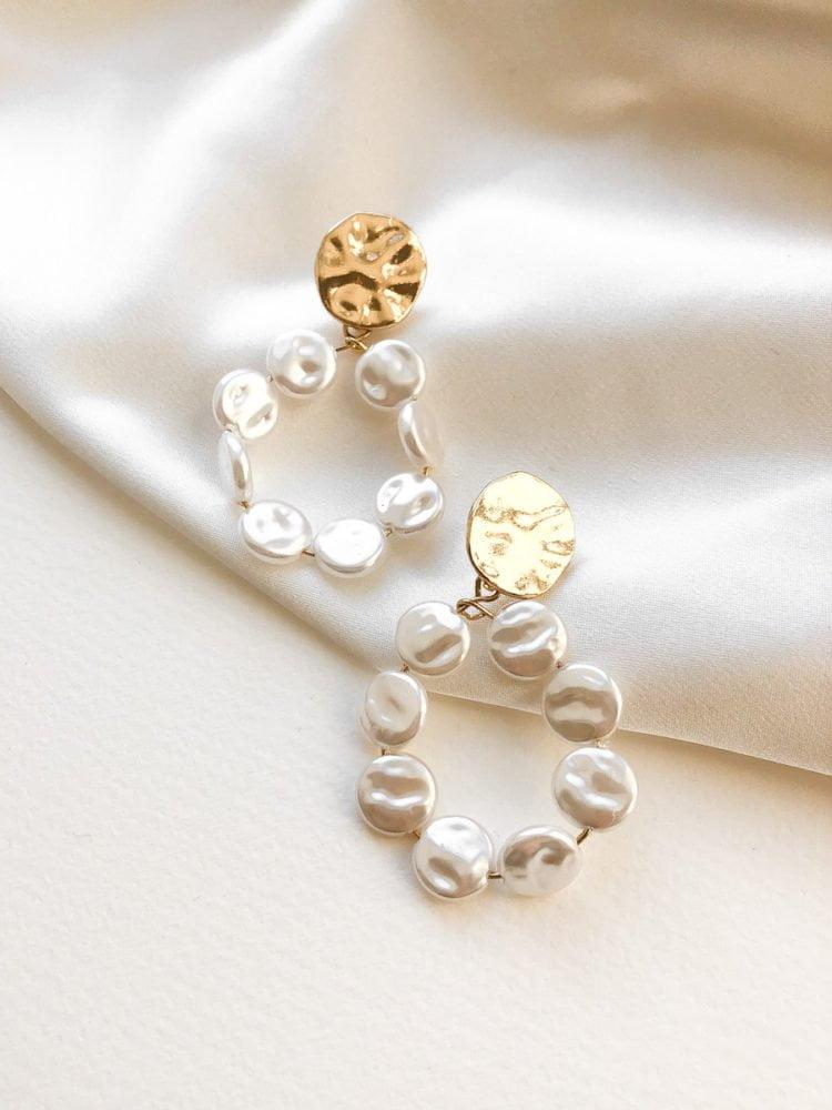 KolczykI Pearl Cloud KAJO Jewels