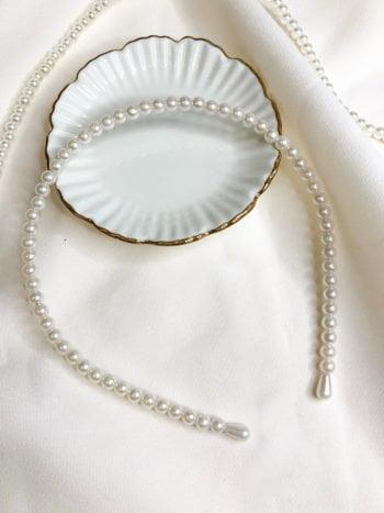 Opaska z małymi perelkami KAJO 2