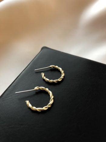 KAJO JEWELS Mini Twist Earrings Kolczyki Mini Twist 5