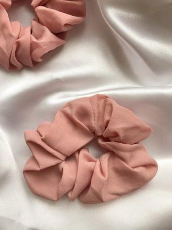 KAJO JEWELS Różowa Szyfon Scrunchie Pink 1