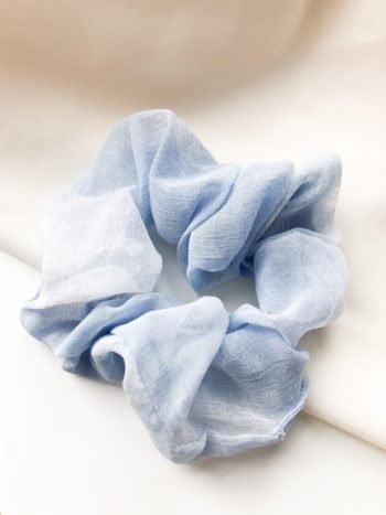 KAJO Gumka Scrunchie Tie Dye Blue 1