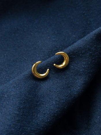 KAJO Lunula Earrings Kolczyki Moon 1
