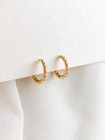 Kolczyki Braid Chain